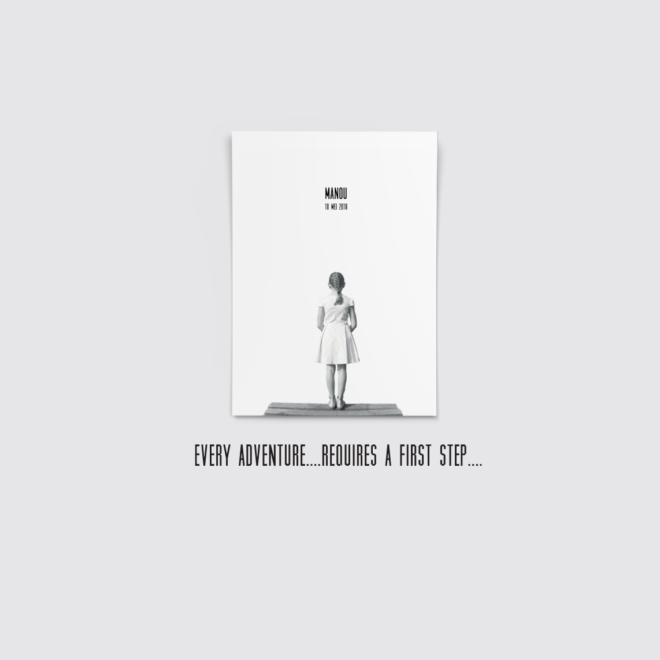 Header eerste communie kaartje zwart wit