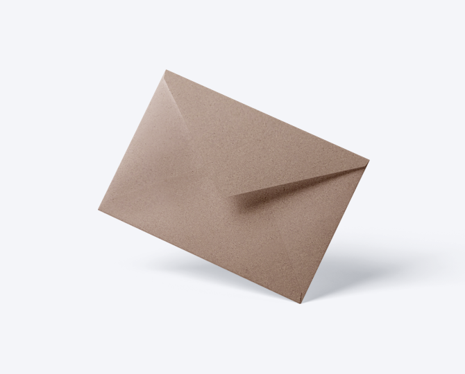 Enveloppe CR03 geboortekaartje communie huwelijk