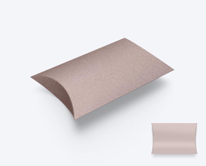 Pillowwdoosje Karton CR03 Nude Eco geboortekaartje communie huwelijk