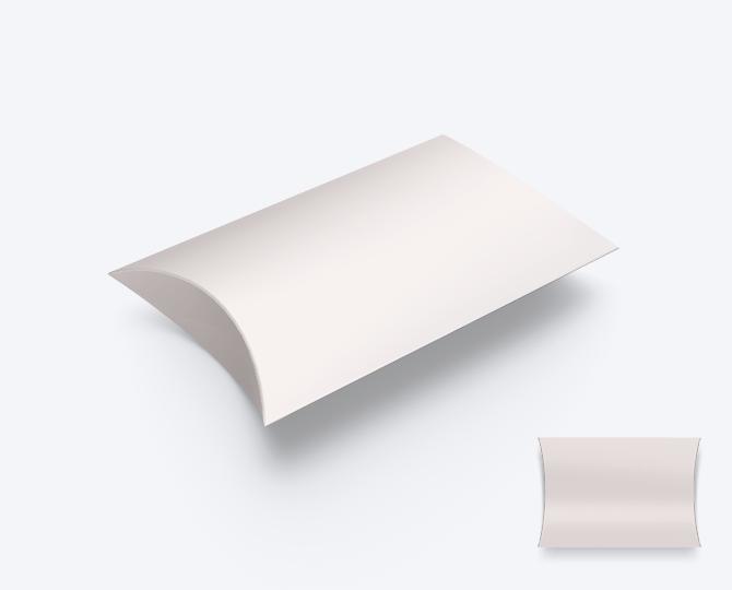 Pillowwdoosje Nude Karton geboortekaartje communie huwelijk