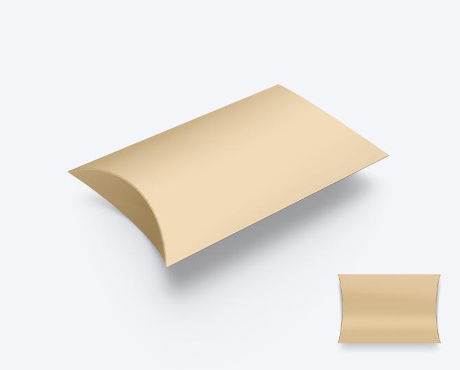 Pillowwdoosje Peach Karton geboortekaartje communie huwelijk