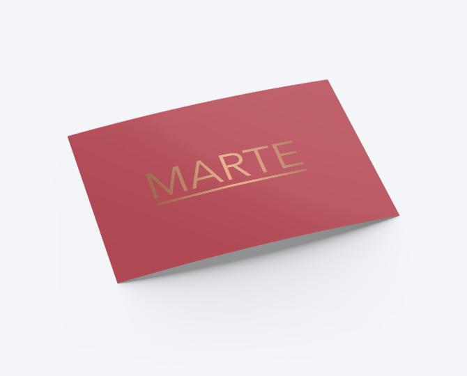 Geboortekaartje goudfolie minimalistisch framboos communie huwelijk UItnodigingen drukwerk